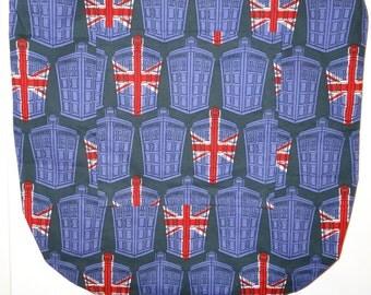 Doctor Who British Flag Tardis Tote Bag