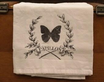 Farmhouse Decor, Flour Sack Towel, Tea Towels, Dish Towel, Kitchen Decor, Gifts for Her, Kitchen Towels