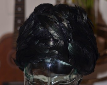 Vintage Estate Jack McConnell Boutique Feather Hat