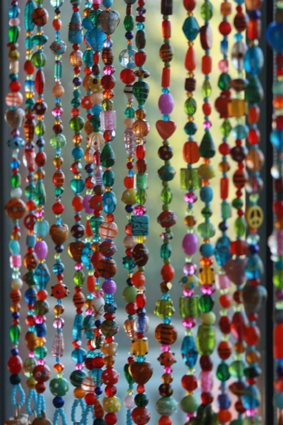 Beaded curtainglass beaded suncatcher window curtain beaded - Rideau de perles ikea ...