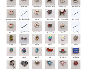 Floating charms De-Fi for floating charm lockets