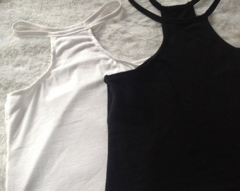 High neck tank set