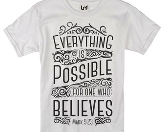 Everything is Possible Men's T-Shirt (SB856)