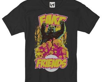 Fake Friends Men's T-Shirt (SB858)