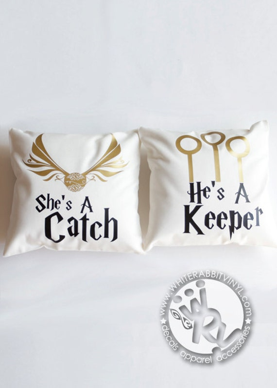 Harry Potter Catch Amp Keeper Pillow Cases Hogwarts Gift Wizards
