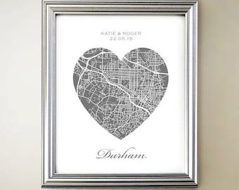Durham Heart Map