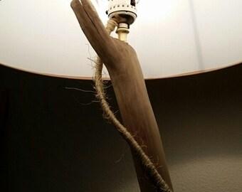 Driftwood Branch Floor Lamp with Shade Floorlamp