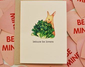 Valentine's Day Card \\ Cheesy, Cute, Lovers