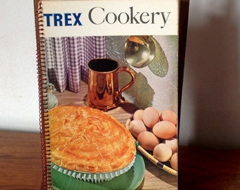 "Vintage ""Trex"" Cookery Book 1960's."