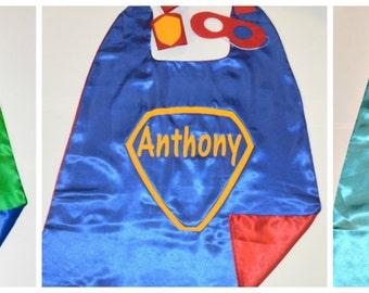 Reversible Superhero Cape with Name Superhero Name Cape. Cape. Cape set with mask and bands. Superhero Costume. Toddler Cape. Superhero Gift