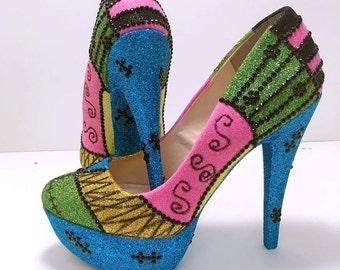 Tim burton heels | Etsy