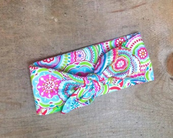 Multi Color Infant Girls Toddler Girls Cotton Knot Head Wrap Head Band