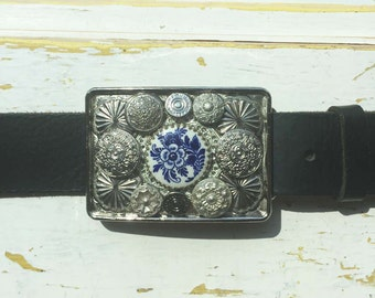 English Tea Party Buckle and Belt Strap