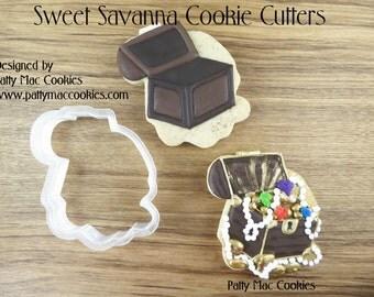 Treasure Chest Cookie Cutter - Pirate Cookie Cutter