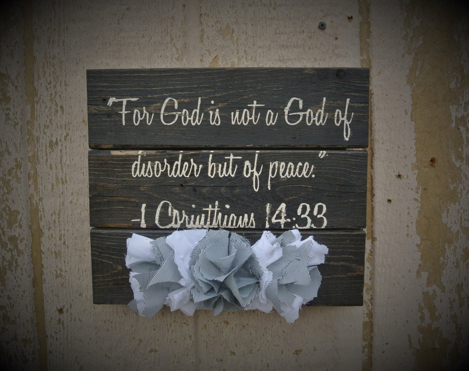 decor signs christian religious wall farmhouse scripture wood sign hanging verse bible salvaged reclaimed rustic something request order custom
