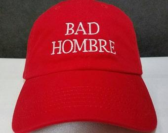 Bad Hombre cap