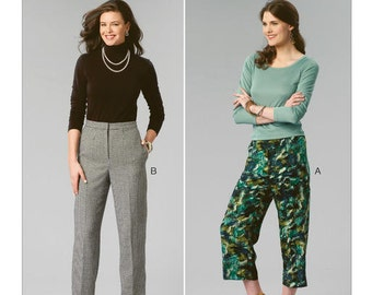 Kwik Sew Pattern K4070 Misses' Straight-Leg Pants