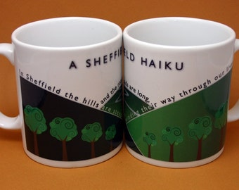 Sheffield Mug: A Sheffield Haiku Mug - Poetry Mug