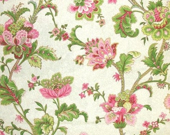 54'' Wide Waverly Claremont Spring Fabric By The Yard - 4 Yards for Sale