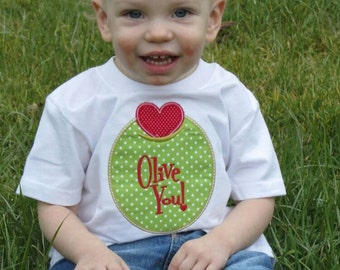 Appliqued Valentine tee shirt or body suit