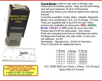 Chord Box Stamp - Medium Size