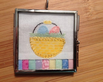 Easter Basket Quilt Jewelry