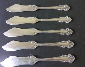 Vintage Silverplate Butter Knives by Community