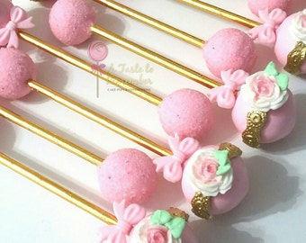 Baby Rattle Cake Pops - Any Color Any Decoration