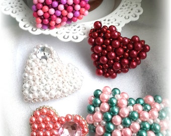 Brooches Heart beat