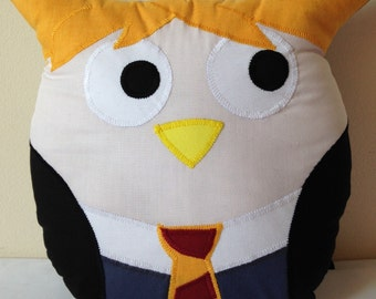 Ron Weasley Owl Cushion