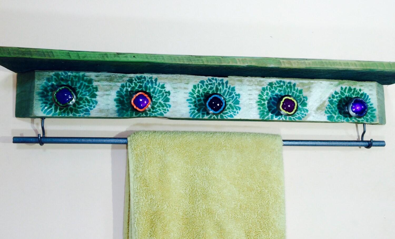 Bath Towel holder /bathroom towel rack /towels rod /wall hanging ...