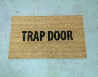 Trap Door Door Mat (size opts)