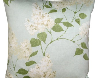 Sanderson Lilacs Duck Egg Cushion Cover