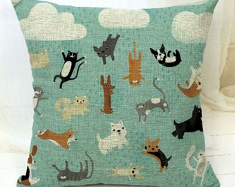 It's Raining Cats and Dogs - Pillow Cover