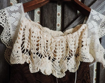 Gypsy Paisley Silk Dress Bohemian Vintage Antique Victorian