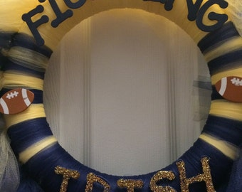 Notre Dame Tulle Wreath