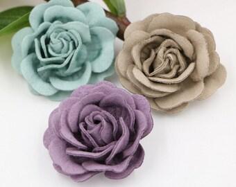 7 pcs Rose Flower,Wholesale Flower, DIY Hair Accessories