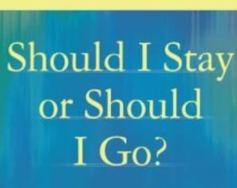 Should I Stay or Should I go? Same Day Psychic Reading 6 Tarot Cards  Fast 24 hr Response or Sooner