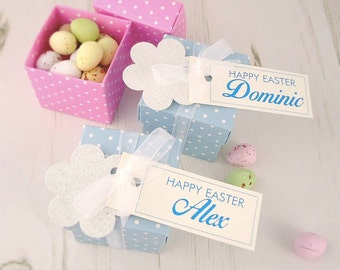 Personalised Easter Boxes - easter gifts - easter mini eggs - easter treats