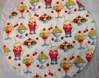 Lazy Susan Cover for any occasion or holiday.  They are made to order.