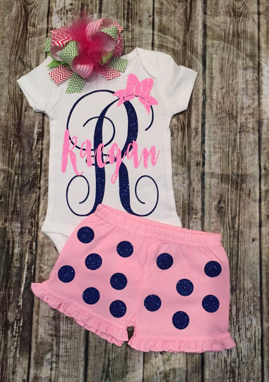 baby girl onesie personalized onesie monogram by bellapiccoli