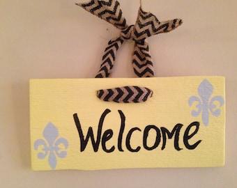 Welcome -Fluer de Lis