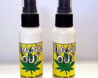 "Smoke Odor Remover ""Dank Out"" Cannabis/ Tobacco Smoke Remover"