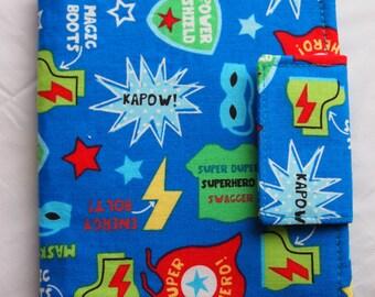 Mini Crayon Art Folio- Superhero, Comic Book
