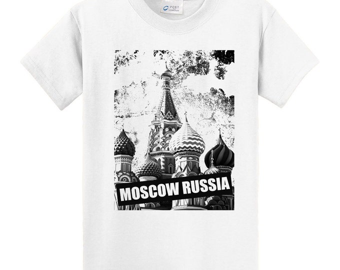 Moscow Russia Travel T-Shirt