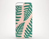 Leaves iPhone 6 case, Rose gold iPhone 6s case, Tropical iPhone 5s case, Trendy iPhone 5C case