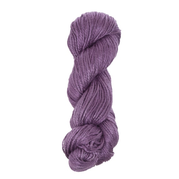 "Milk Yarn - bulky weight in ""Purple"""