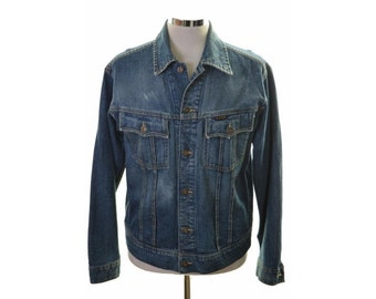 G-Star Mens Denim Jacket Size 40 Medium Blue Cotton