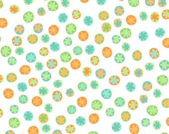 Monkey Business Dots Fabric