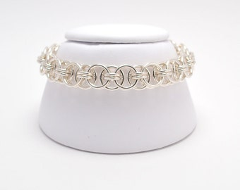 Helm Bracelet in Sterling Silver